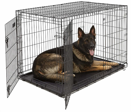 GSD Crate Training